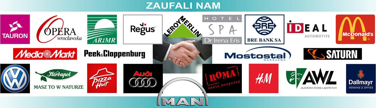 Zaufało nam wiele firm w Polsce i za granicą