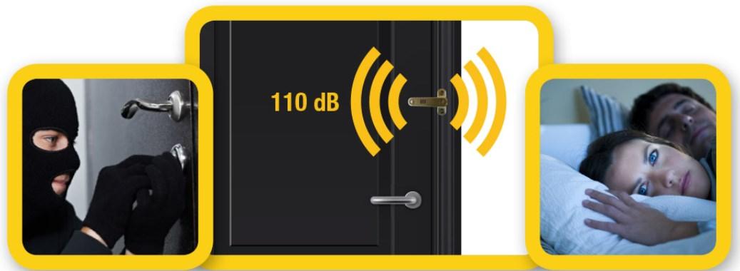 Bulglar Avoider - zabezpieczenie okien i drzwi z alarmem