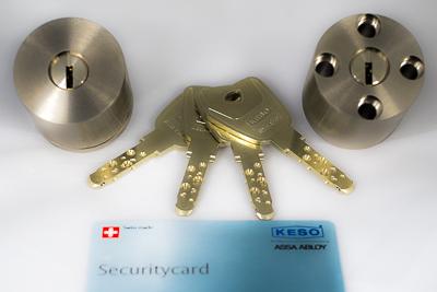 Zamek Gerda RIM 6000 S 4 klucze
