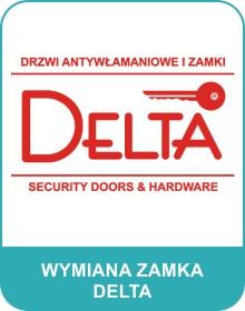 wymiana zamka Delta