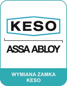 wymiana zamka Keso