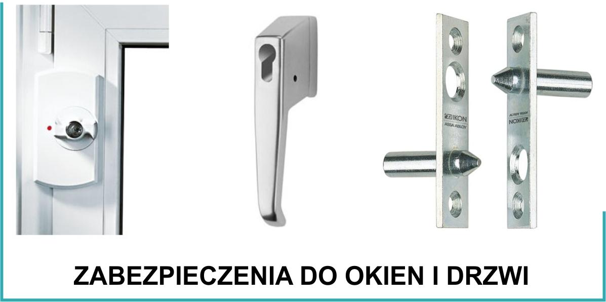 zabezpieczenia do okien i drzwi Gdansk