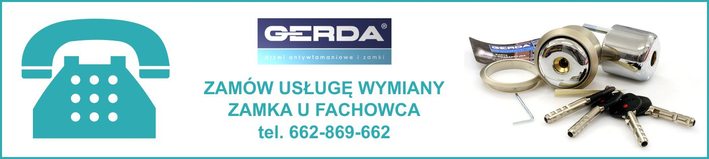 Wymiana zamka w drzwiach Gerda Poznań