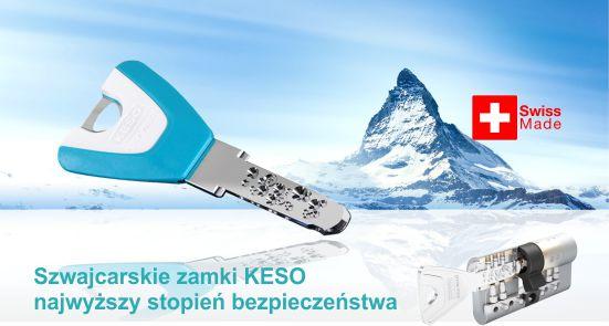 Wkładki do zamków KESO Katowice
