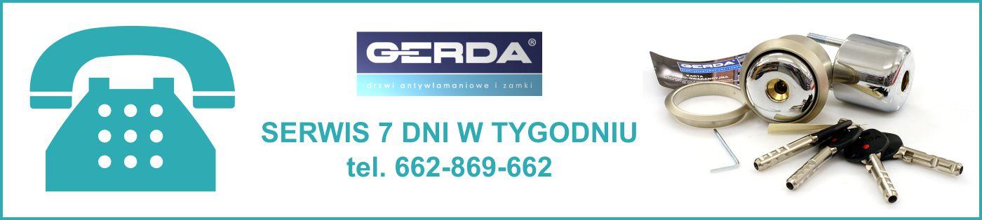 Serwis Gerda 7 dni w tygodniu