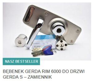 BĘBENEK GERDA RIM 6000 DO DRZWI GERDA S